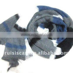 Newest Fashion Knitting Mohair Winter Scarf