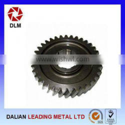 China Manufacturing Forged Steel Gear with CNC machining