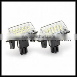 error free canbus led license plate light for toyota yaris camry