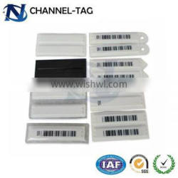 Best design channel tag 58KHz electronic alarm sticker dr alarm sticker for cosmetic anti theft