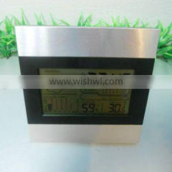 Manufacturer supply multifunction weather station lcd clock