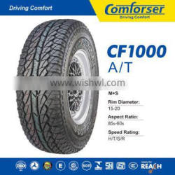 Mt tires comforser cf1000 31x10.50r15lt owl tire passenger car tires made in china tyre with high quality