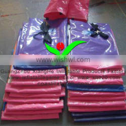 Hot sale commercial grade PVC Tarpaulin ceative sandbag for inflatable products