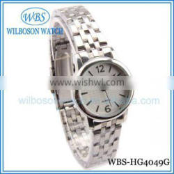 CHINA FACTORY WHOLESALE WATCH WITH STAINLESS STEEL BAND