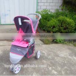 Outstanding quality 3 point safety pushchair softable baby jogger
