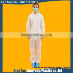 2015 Cheap WHITE Disposable Painters Overalls
