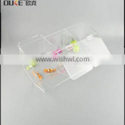 Promotional fashional cheap acrylic candy box from factory