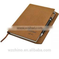 Manufacturer supply custom pu notebook with high quality and low price