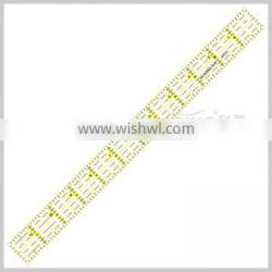 Kearing Sewing Accesseries Luxury acrylic Patchwork Quilting Rulers High Quality Plastic Rulers#KPR1201