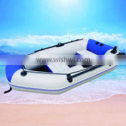 Hot sale motor boats with PVC material
