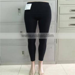 Full Length Solid cotton Leggings Footless Long Color Tight Fitted Stretch Seamless