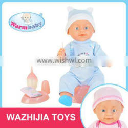 Hot sale high quality interesting silicone baby dolls without clothes for kids