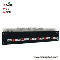 Stage light used 3680w power distribution box good quality stage power distribution power console