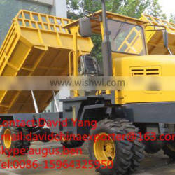 promotion 4WD wheel palm tipping truck lorry