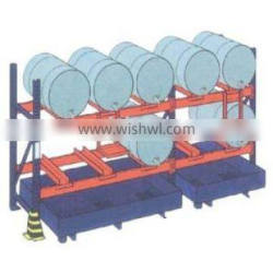 solid cold rolled steel oil can rack