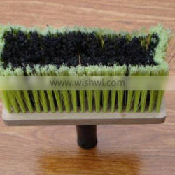 floor cleaning brush with plastic handle