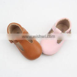 Baby boutique wholesale kid sandal baby shoes leather