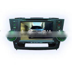 "8"" in dash car dvd player model#DH-8001 for Toyota-Highlander"