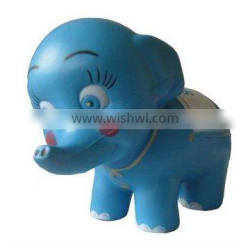 PU foam antistress elephant for promotional gifts