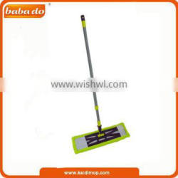 flat mop with telescopic pole