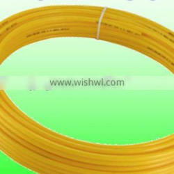 Corrosion Resistance Nylon coiled hose 12mm*9mm Tubing Coiled Yellow Used For Machinery for pneumatic tube