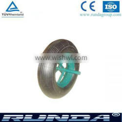 14 inch diameter size solid rubber wheel manufacturer