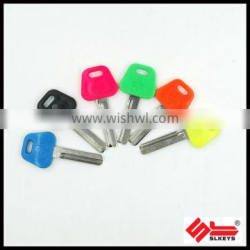 Colour head and customer mould key blank