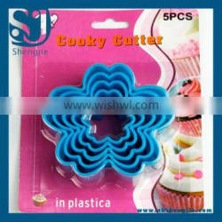 Trade Assurance Plastic Chrysanthemum Shape Cooky Cutter