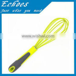 Silicon whisk with soft handle