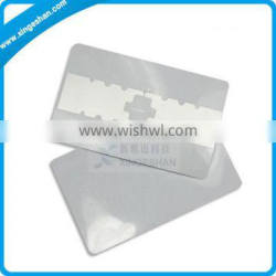 Aluminum etching 5*5 contactless rfid card uhf inlay with Impinj Monza4 chip