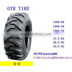 China OTR tire 1400-24 G2/L2 top quality low price