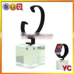 modern watch display stand in acrylic material