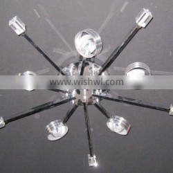 Silver ceiling light modern for decoration with CE