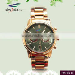 2015 hot selling oem best newest stainless steel watch