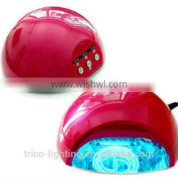 12W CCFL + 5W LED LIGHT LAMP Energy-saving Soak-off UV Gel Nail Polish Nail Ar