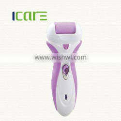Electric callus remover with 2different color rollers easy to replace/foot callus remover
