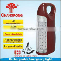 CR- 1067C led solar rechargeable light