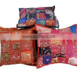 Ethnic tribal indian cushion covers