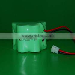 High Temperature 6.0V Ni-MH Battery Pack with C size 3500mAh for Emergency Light