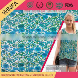 Winfar Top quality Customized factory price american knit fabric