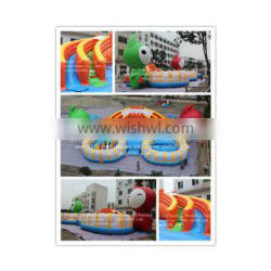 Hot sale commercial grade PVC brand new FU050 Inflatable Giant Cartoon Fun City