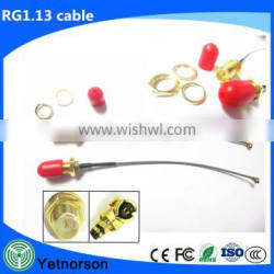 UFL IPEX to RP-SMA RFJumper Antenna RF Cable Assembly with SMA connector
