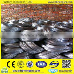Factoey price hot dipped galvanized iron wire / galvanized steel wire rope