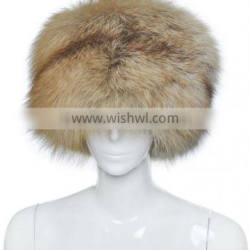 YR710B Women Winter Fur Hat/Red Fox Hat Retail