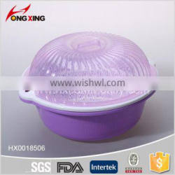 fashion plastic kitchen sieve set with lid and handle