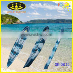 double sit on top fishing kayak/boat with wheel