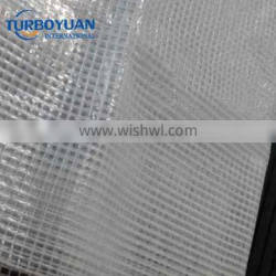 plastic pe leno sheets mesh poly tarp transparent clear scaffold tarpaulin cover for construction