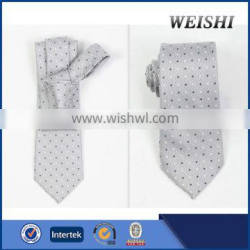 silk fashion pleated necktie