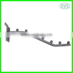 Slatwall display metal wall hook for hanging clothes