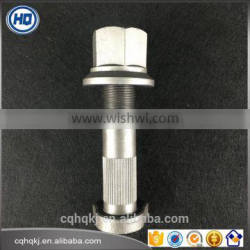 Customized Automobile Hub Bolts with Nuts for Heavy Duty Vehicle